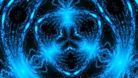 Абстрактный светлый калейдоскоп Безшовная петля видеоматериал