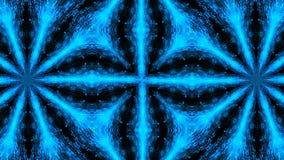Абстрактный светлый калейдоскоп Безшовная петля сток-видео