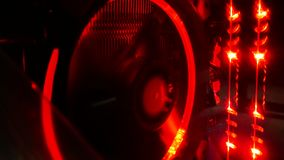Абстрактный светлый компьютер электронный Стоковая Фотография RF