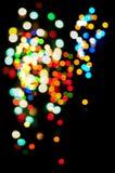 абстрактный свет влияния Стоковое Изображение