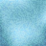 Абстрактный свет - голубая предпосылка с крошечными квадратами Стоковые Фотографии RF