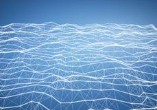 Абстрактный свет - предпосылка голубого полигонального сброса низкая поли
