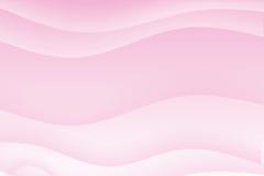 абстрактный свет предпосылки - розовый успокаивать волнистый иллюстрация вектора