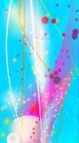 абстрактный свет предпосылки Стоковые Изображения