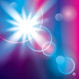 абстрактный свет предпосылки Стоковое Изображение RF
