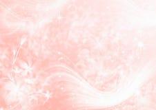 абстрактный свет предпосылки - пинк Стоковые Фотографии RF
