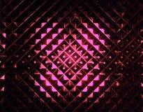 Абстрактный свет проходя текстурированное стекло Стоковое фото RF