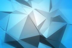 абстрактный свет сини предпосылки Стоковые Изображения RF