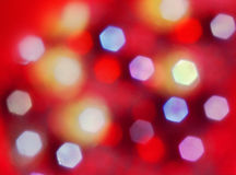 абстрактный свет шестиугольника предпосылки Стоковая Фотография RF
