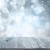 Абстрактный сезон зимы предпосылки Стоковое Фото