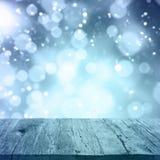 Абстрактный сезон зимы предпосылки Стоковые Изображения