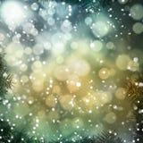 Абстрактный сезон зимы предпосылки Стоковое фото RF
