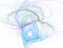 абстрактный сердечник беспорядка изгибает спираль картины Стоковое Фото