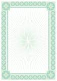 абстрактный сертификат предпосылки Стоковые Изображения RF