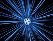 абстрактный сигнал конструкции предпосылки 3d иллюстрация штока