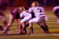 абстрактный сигнал футбола действия Стоковое Изображение