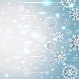 абстрактный снежок предпосылки Бесплатная Иллюстрация