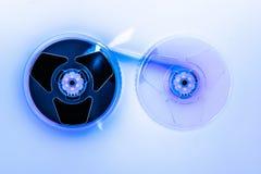 Абстрактный состав видео- illumin вьюрков ленты домашней системы VHS Стоковое Фото