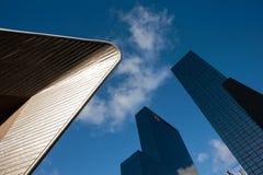Абстрактный состав зданий стоковые изображения rf