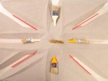 Абстрактный состав на теме флага Стоковое Изображение RF