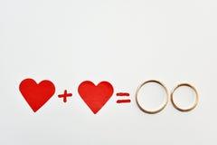 Абстрактный состав свадеб Стоковое Изображение RF