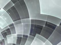 Абстрактный состав с круговой checkered картиной иллюстрация штока