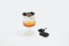 Абстрактный состав управлять питья Стоковое Изображение