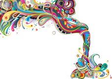 абстрактный состав Стоковая Фотография RF