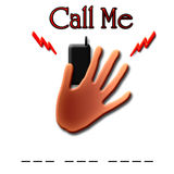 абстрактный сотовый телефон Стоковая Фотография