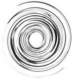 Абстрактный спиральный элемент в солдате нерегулярной армии, случайная мода геометрическо иллюстрация вектора