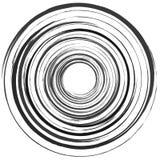 Абстрактный спиральный элемент в солдате нерегулярной армии, случайная мода геометрическо иллюстрация штока