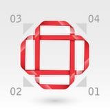 Абстрактный стеклянный шаблон сеты. Стоковые Фотографии RF