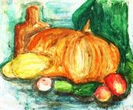 абстрактный сделанный чертеж ребенка Стоковые Фото