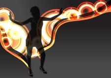 абстрактный танцор Стоковое фото RF
