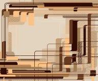 абстрактный техник предпосылки Стоковые Фотографии RF