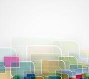 абстрактный техник предпосылки Футуристический интерфейс технологии Стоковое Изображение