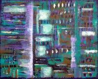абстрактный тип картины батика стоковое фото rf