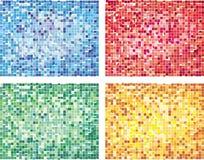 абстрактный тип конструкции кубизма Стоковая Фотография RF
