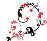абстрактный тип орнамента folt иллюстрация штока