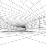 абстрактный тоннель Стоковые Изображения