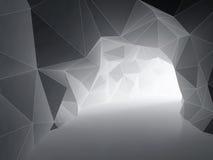абстрактный тоннель Стоковые Изображения RF