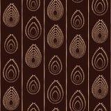Абстрактный традиционный африканский орнамент вектор картины безшовный Стоковые Изображения