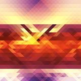 Абстрактный треугольник bg45 Иллюстрация штока