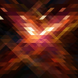 Абстрактный треугольник bg47 Иллюстрация вектора