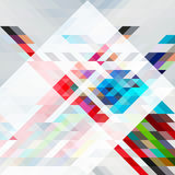 Абстрактный треугольник bg39 Иллюстрация вектора