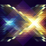 Абстрактный треугольник bg34 Иллюстрация штока