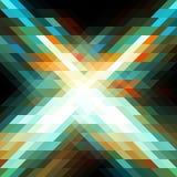 Абстрактный треугольник bg33 Иллюстрация вектора