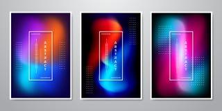 Абстрактный ультрамодный градиент формирует предпосылку для мобильного экрана, рекламу, фон, брошюру, крышку, летчика, приглашени иллюстрация штока