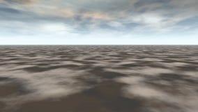 абстрактный фантастический ландшафт иллюстрация штока