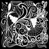 Абстрактный фантастический орнамент Стоковые Фото